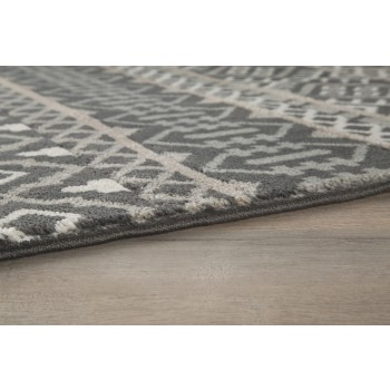 Joachim - Black/Tan - Large Rug