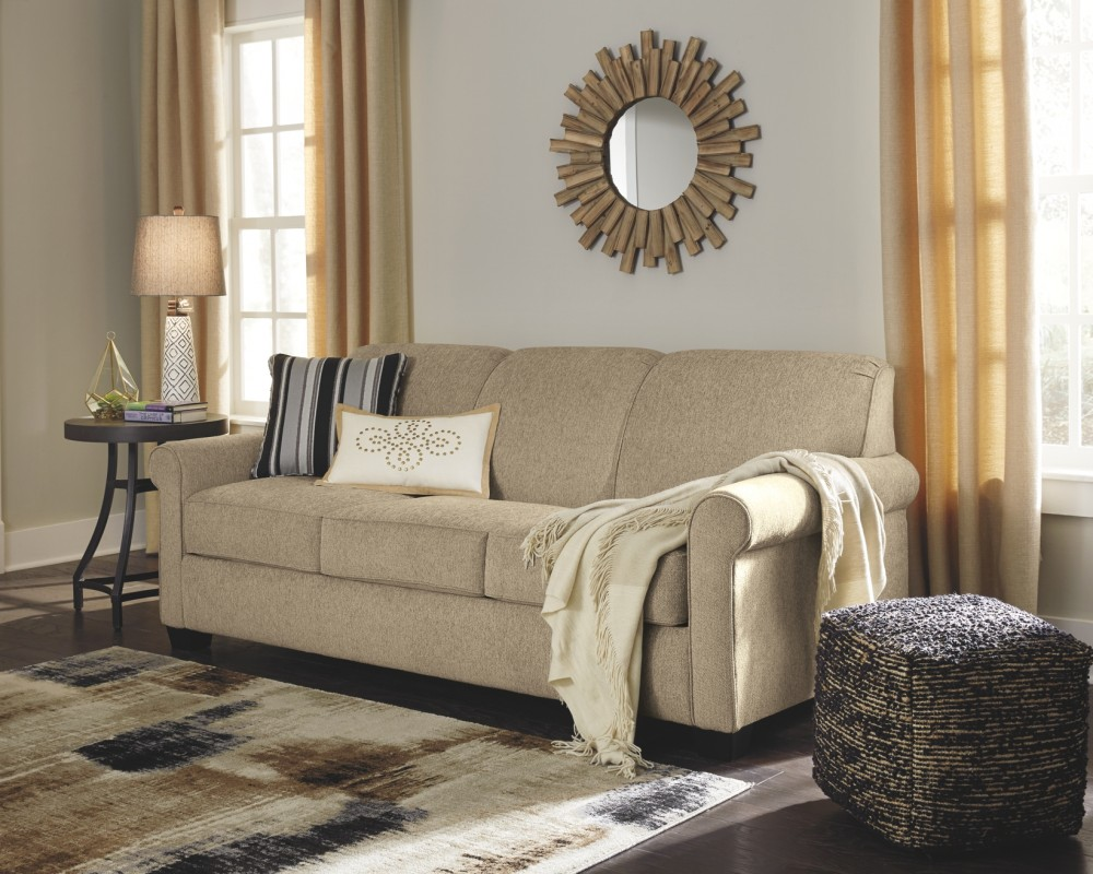 finest selection dff6f fc56d Cansler - Grain - Queen Sofa Sleeper