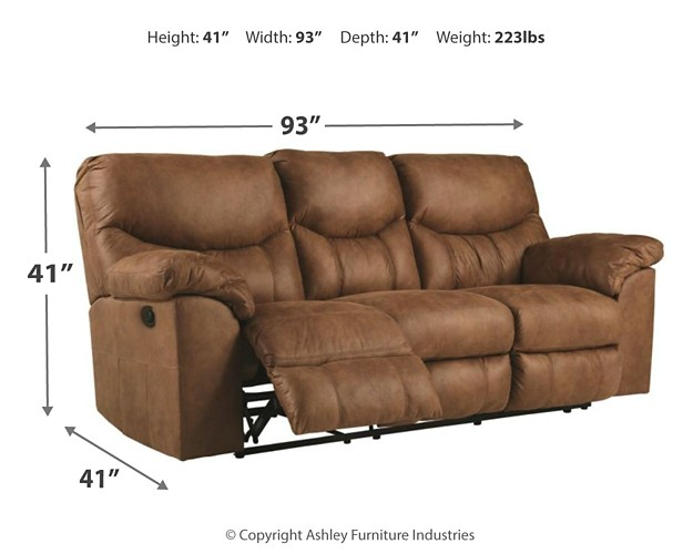 Boxberg Bark Reclining Power Sofa 3380287 Reclining Power