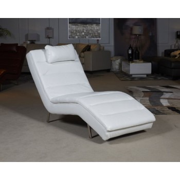 Goslar - White - Chaise