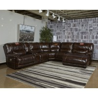 Killamey - Walnut - RAF Zero Wall Power Recliner
