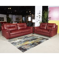 Tensas - Crimson - RAF Corner Chaise