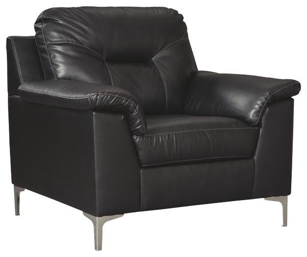Tensas - Black - Chair