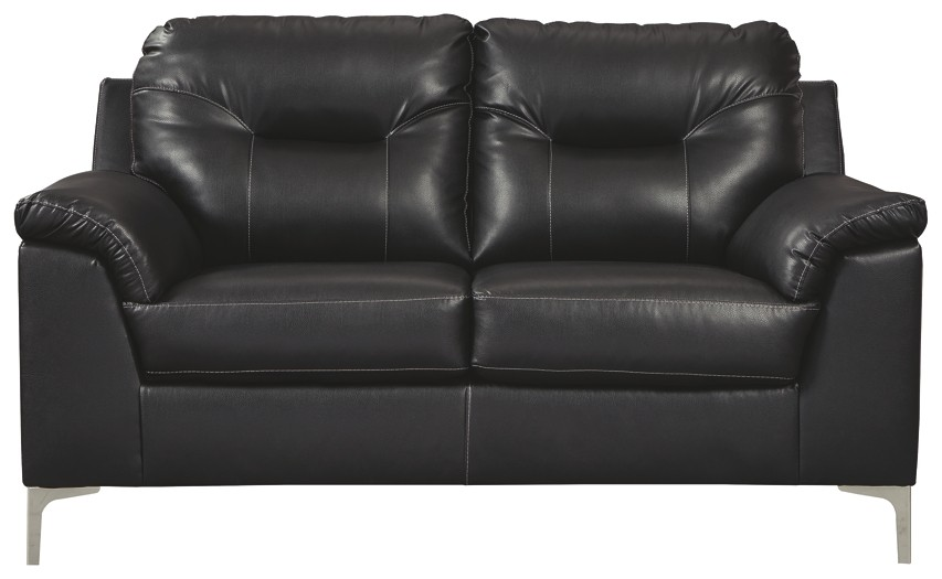 Tensas - Black - Loveseat