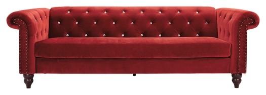 Malchin - Red - Sofa