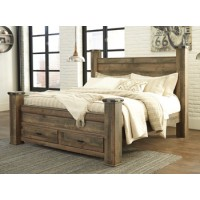 Trinell - Brown - King Footboard Storage Box
