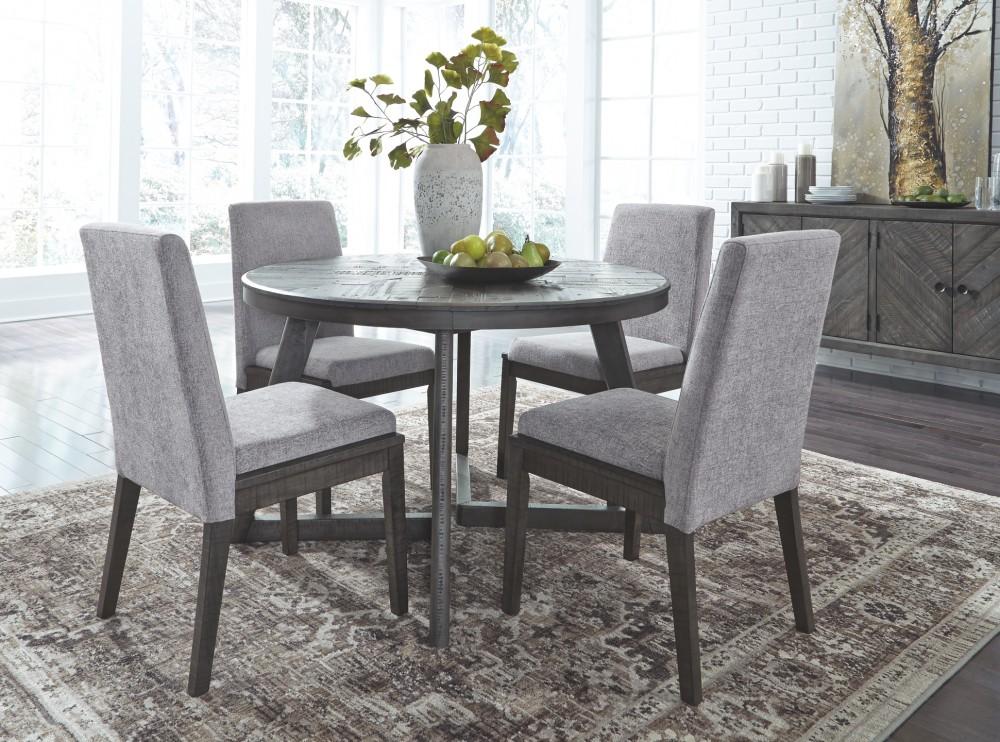 Besteneer Dark Gray Dining Room Server D568 60