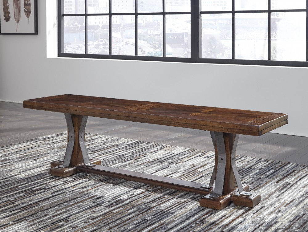Devasheen   Brown   Dining Room Bench