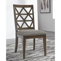 Devasheen - Brown - Dining UPH Side Chair (2/CN)