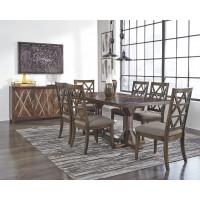 Devasheen - Brown - Rectangular Dining Room Table