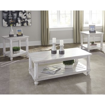 Cloudhurst - White - Occasional Table Set (3/CN)
