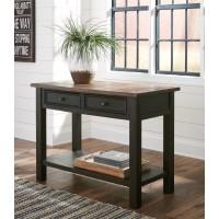 Tyler Creek - Grayish Brown/Black - Sofa Table