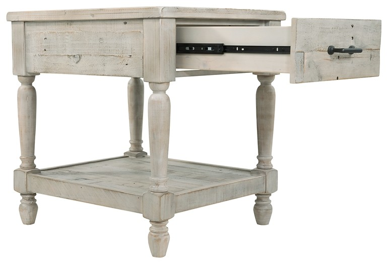 shawnalore white wash rectangular end table click to expand shawnalore shawnalore shawnalore - White Wash End Tables