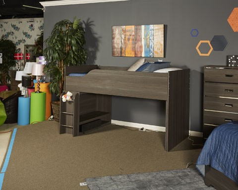 Annikus - Gray - Twin Loft Bed | B132-68T | Loft | Mi Hometown