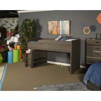 Annikus - Gray - Twin Loft Bed