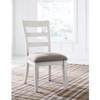 Stownbranner - White/Gray - Dining UPH Side Chair (2/CN)