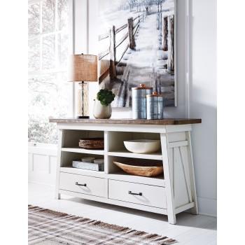 Stownbranner - White/Gray - Dining Room Server
