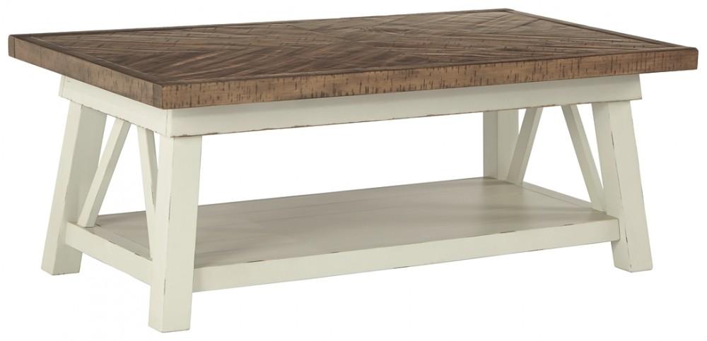 Marvelous Stownbranner Two Tone Rectangular Cocktail Table Ibusinesslaw Wood Chair Design Ideas Ibusinesslaworg