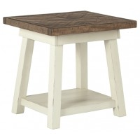 Stownbranner - Two-tone - Rectangular End Table