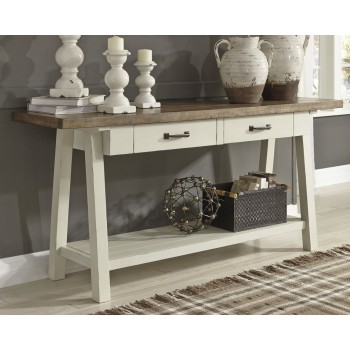 Stownbranner - Two-tone - Sofa Table