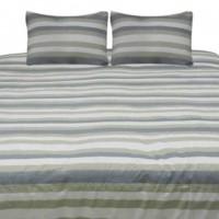Isaiah - Gray/Tan - Queen Comforter Set