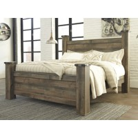 Trinell - Brown - King Poster Footboard