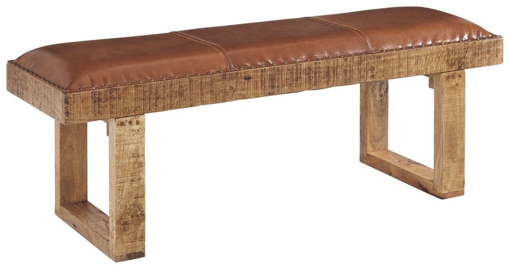 Eduardo - Brown - Accent Bench