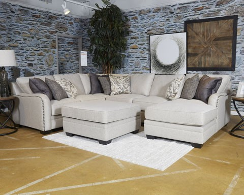 Dellara   Chalk   LAF Loveseat