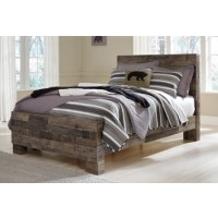 Derekson - Multi Gray - Full Panel Headboard