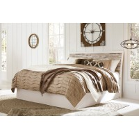 Evanni - Multi - King Panel Headboard