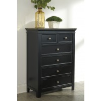 Froshburg - Two-tone - Six Drawer Chest