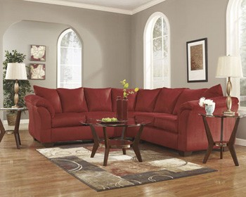 Darcy Right Arm Facing Loveseat 7500156 Sectional Pieces Mi