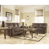 Amazon - Walnut - Sofa & Loveseat
