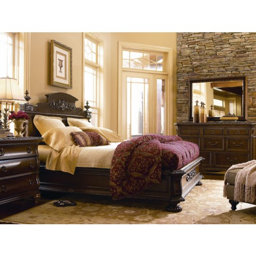 Bolero Medina Panel Bed Bedroom Group