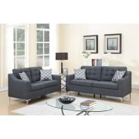 PriceBusters Special Gray Sofa & Love Under $500