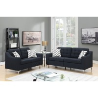 PriceBusters Special Black Sofa & Love Under $500