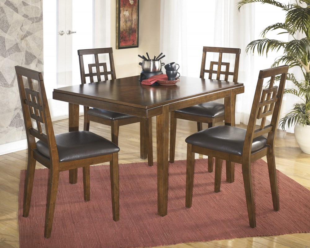 Cimeran Rectangular Table & 4 Side Chairs