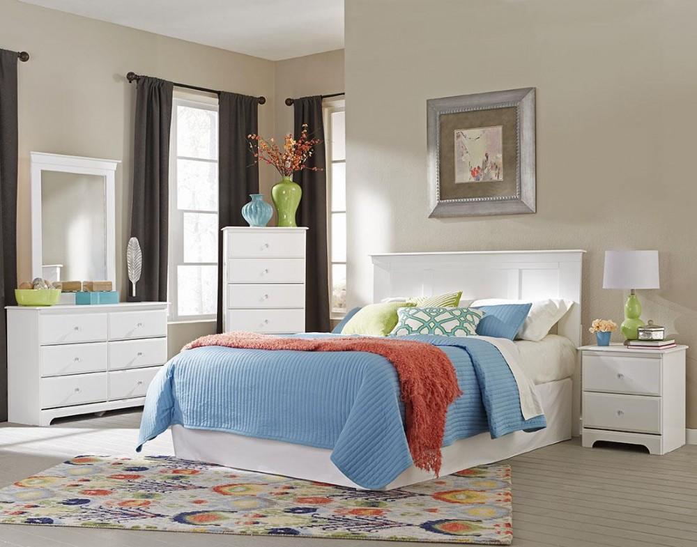 Adell Queen/Full 5 Piece Bedroom Set | ADEHB10, 221, 530, 658, MR ...