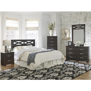 Berlin Queen/Full 4 Piece Bedroom Set