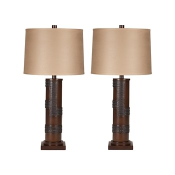 Oriel - Poly Table Lamp (Set of 2)
