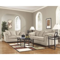 Darcy - Stone - Sofa & Loveseat