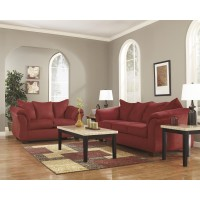 Darcy - Salsa - Sofa & Loveseat