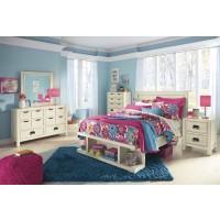 Blinton-White- 6pc. Bedroom Group