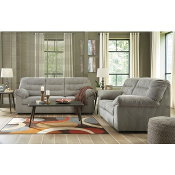Gosnell - Gray - Sofa & Loveseat