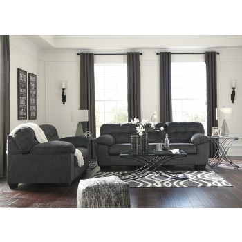 Accrington - Granite - Sofa & Loveseat