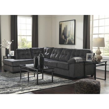 Accrington - Granite 2 PC LAF Corner Chaise Sectional