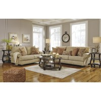 Candoro - Oatmeal - Sofa & Loveseat