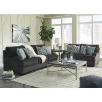 Charenton - Charcoal - Sofa & Loveseat