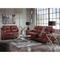 Kensbridge - Crimson - Sofa & Loveseat
