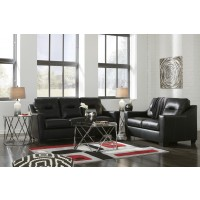 Kensbridge - Black - Sofa & Loveseat